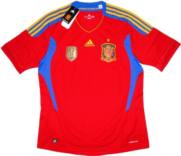 ADIDAS V14921 Spain 2010 WORLD CUP CHAMPIONS Football ...